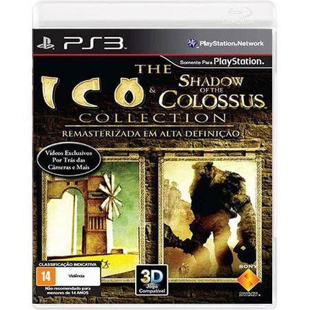 Ico & Shadow of The Colossus Seminovo – PS3