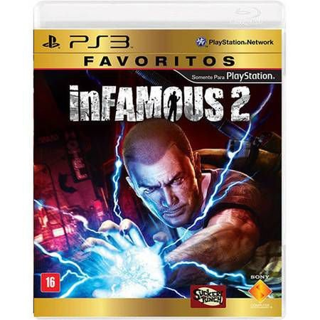 Infamous 2 – Favoritos Seminovo – PS3