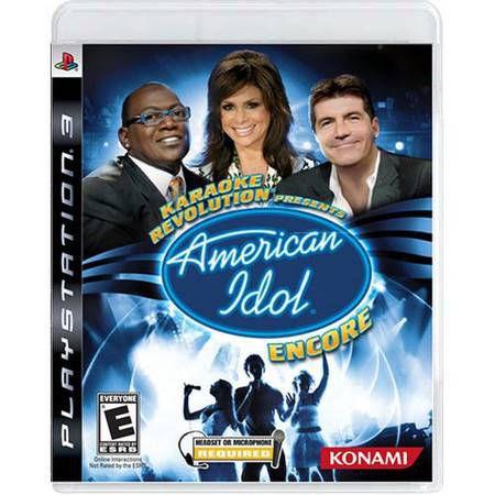 Karaoke Revolution America Idol Encore Seminovo – PS3