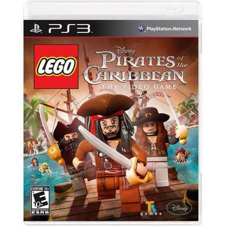 Lego Piratas Do Caribe: The Video Game Seminovo – PS3
