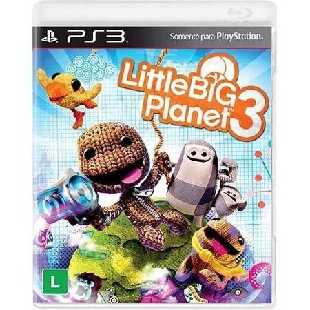 Little Big Planet 3 Seminovo – PS3