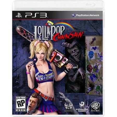 Lollipop Chainsaw Seminovo – PS3