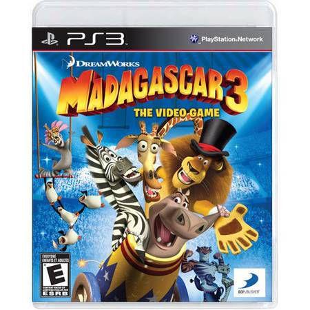 Madagascar 3 The Video Game Seminovo – PS3