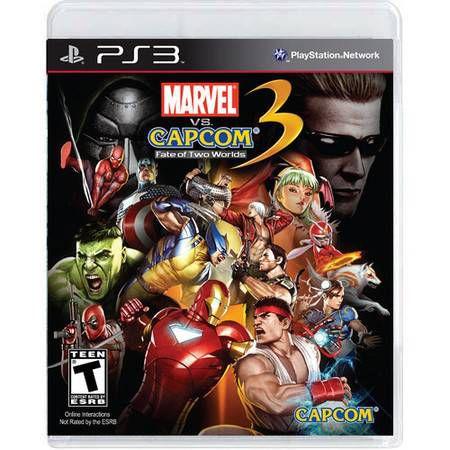 Marvel VS Capcom 3 Fate of Two Worlds Seminovo – PS3