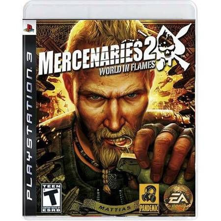 Mercenaries 2: World In Flames Seminovo – PS3