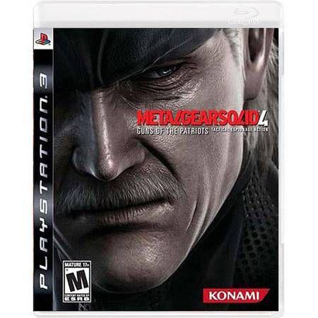 Metal Gear Solid 4 Seminovo – PS3