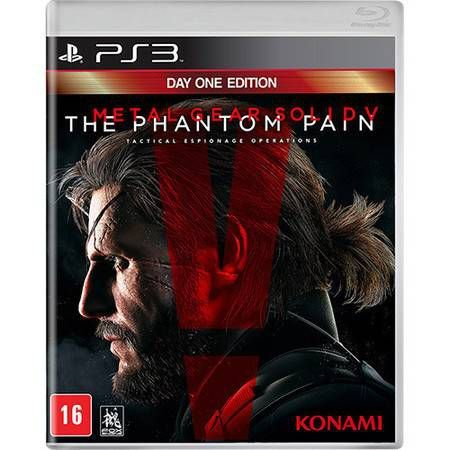 Metal Gear Solid V: The Phantom Pain – Seminovo – PS3