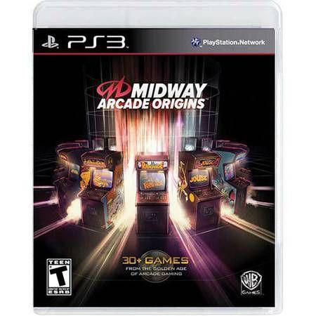Midway Arcade Origins Seminovo- PS3