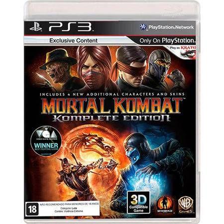 Mortal Kombat: Komplete Edition Seminovo - PS3