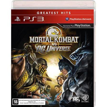 Mortal Kombat Vs. DC Universe Seminovo – PS3