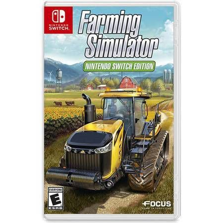 Farming Simulator Edition Seminovo – Nintendo Switch