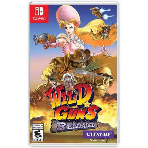 Wild Guns Reloaded Seminovo – Nintendo Switch