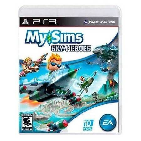 My Sims Sky Heroes Seminovo – PS3
