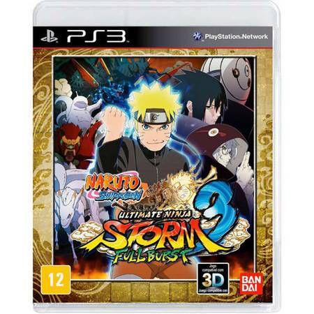 Naruto Shippuden Storm 3 Full Burst Seminovo – PS3