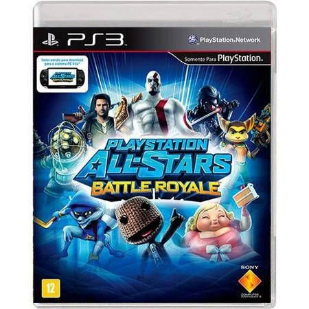 Playstation All- Stars Battle Royale Seminovo – PS3