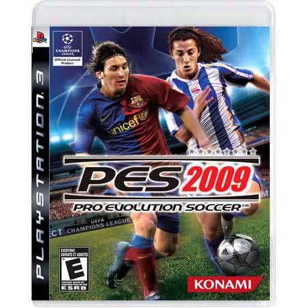 Pro Evolution Soccer 2009 Seminovo – PS3
