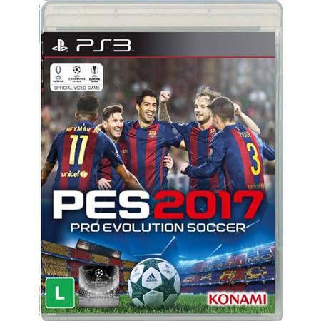 Pro Evolution Soccer 2017 Seminovo – PS3