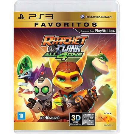Ratchet and Clank: All 4 One Seminovo – PS3