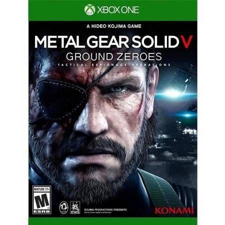 Metal Gear Solid V Ground Zeroes Seminovo – Xbox One
