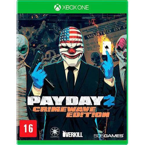 Payday 2 Crimewave Edition Seminovo – Xbox One