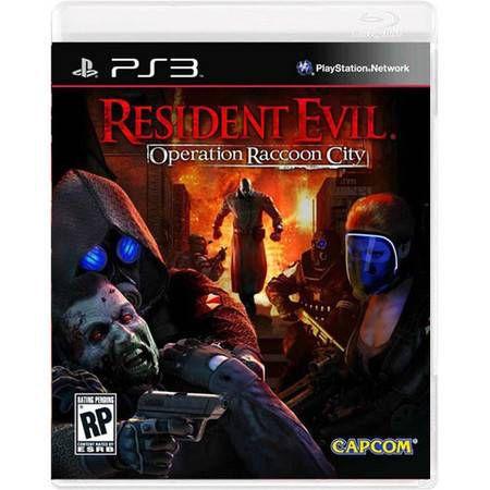 Resident Evil Operation Racoon City Seminovo – PS3