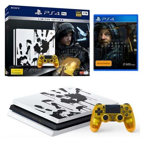 Console Playstation 4 Pro 1TB 4k Edição Limitada Death Stranding Seminovo – PS4