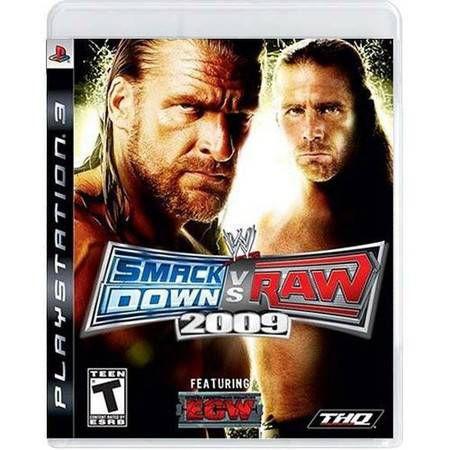 SmackDown VS Raw 2009 Seminovo – PS3