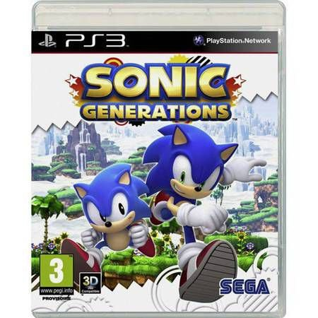 Sonic Generations Seminovo – PS3