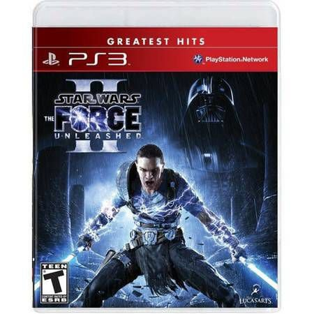 Star Wars The Force Unleashed 2 Seminovo – PS3