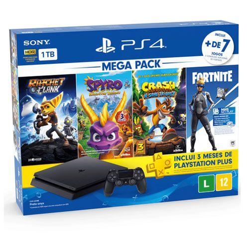 Console Playstation 4 Slim 1TB Bundle Hits Family