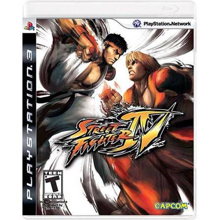 Street Fighter IV Seminovo – PS3