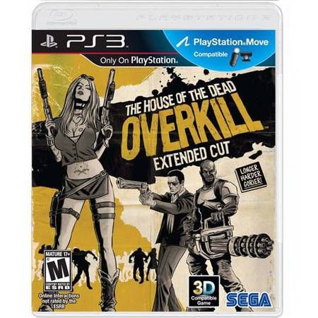 The House Of The Dead Overkill Extended Cut Seminovo – PS3