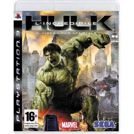 The Incredible Hulk Seminovo – PS3