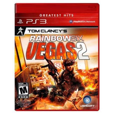Tom Clancys: Rainbow Six Vegas 2 Seminovo – PS3