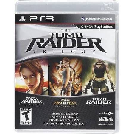Tomb Raider Trilogy Seminovo – PS3