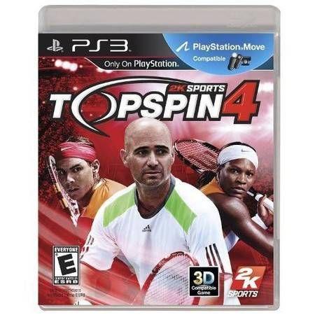 Top Spin 4 Seminovo – PS3