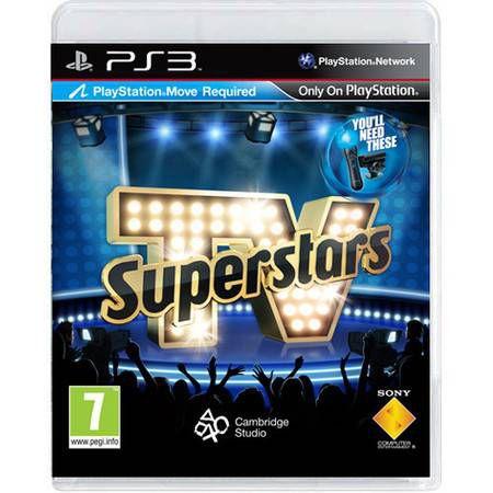 TV Superstars Seminovo – PS3