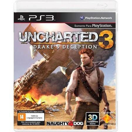 Uncharted 3: Drakes Deception Seminovo – PS3