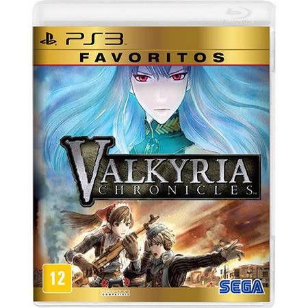 Valkyria Chronicles – Favoritos Seminovo – PS3