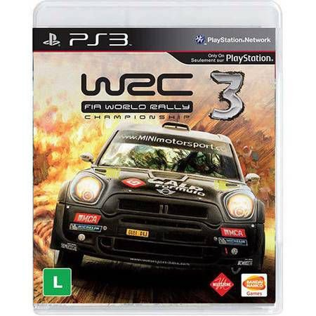 Wrc 3: Fia World Rally Championship Seminovo – PS3