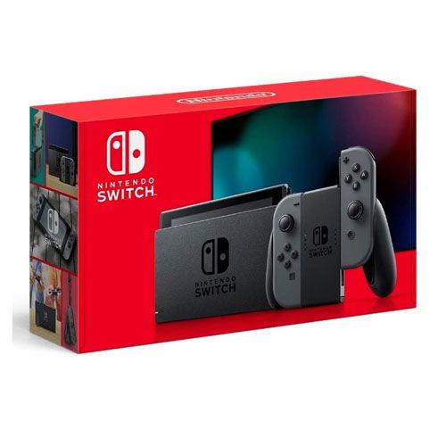 Console Nintendo Switch Com Joy-Con Cinza - Nova Versão