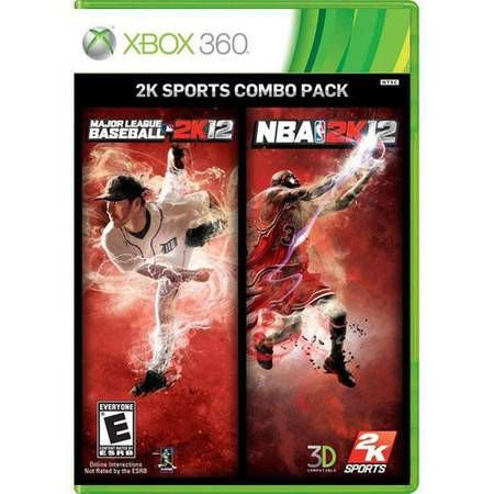 2k Sports Combo Pack Seminovo – Xbox 360