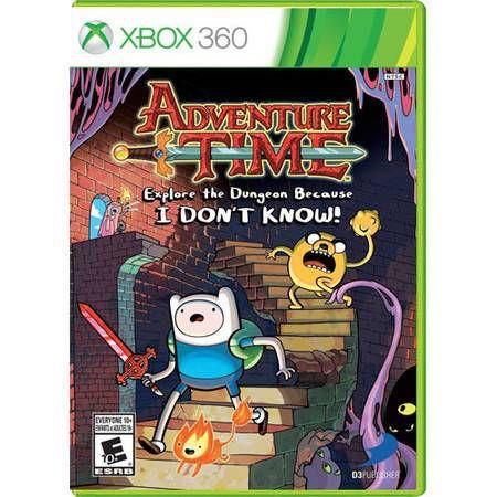Adventure Time Explore The Dugeon Because Seminovo – Xbox 360