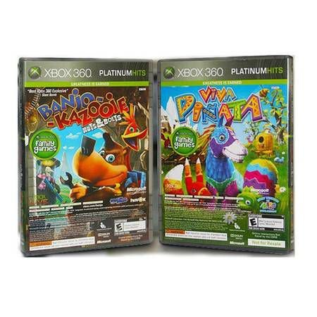 Banjo-kazooie: Nuts & Bolts + Viva Pinata Seminovo – Xbox 360