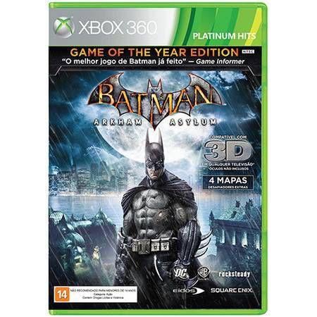 Batman: Arkham Asylum Seminovo – Xbox 360
