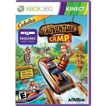 Cabela's Adventure Camp Kinect Seminovo – Xbox 360