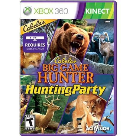 Cabela's Big Game Hunter Kinect Seminovo – Xbox 360