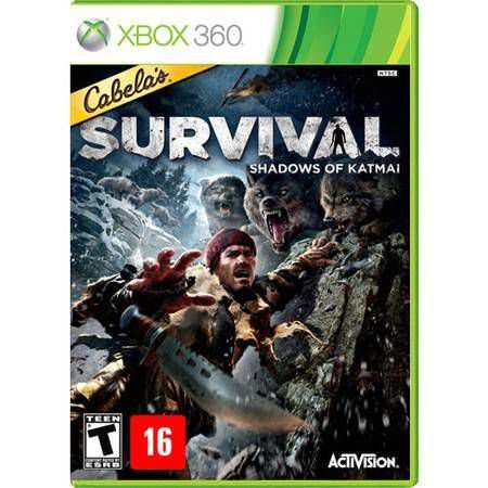 Cabela's Survival Shadows Of Katmai Seminovo – Xbox 360