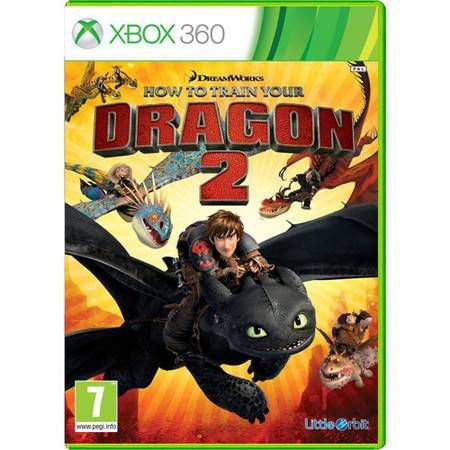 Como Treinar Seu Dragão 2 Seminovo – Xbox 360