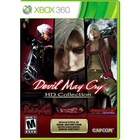 Devil May Cry HD Collection Seminovo – Xbox 360